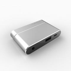 苹果安卓转VGA/HDMI转接头 手机平板电视显示器 吃鸡手游神器配件